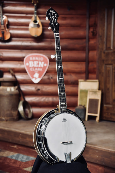Gold Tone OB-150RF Radiused Fingerboard 5-String Banjo With Case