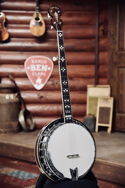 Gold Tone OB-250 Plus 5-String Banjo With Tony Pass Rim and JLS Tonering With Case