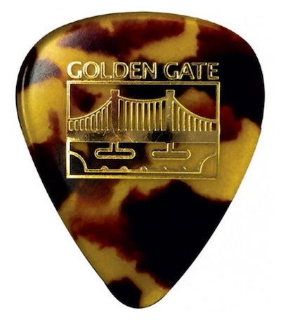 Golden Gate Standard Teardrop Flat Pick