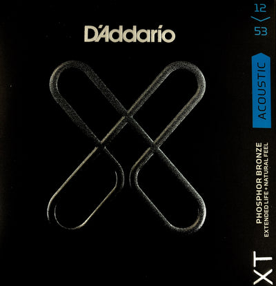 D'Addario XT Phosphor Bronze Light 12-53 Acoustic Guitar Strings