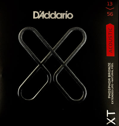 D'Addario XT Phosphor Bronze Medium 13-56 Acoustic Guitar Strings