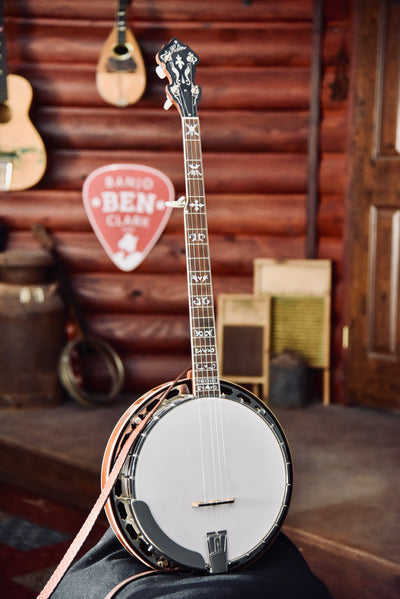 Pre-Owned Huber VRB75 Truetone Bluegrass Banjo With Case