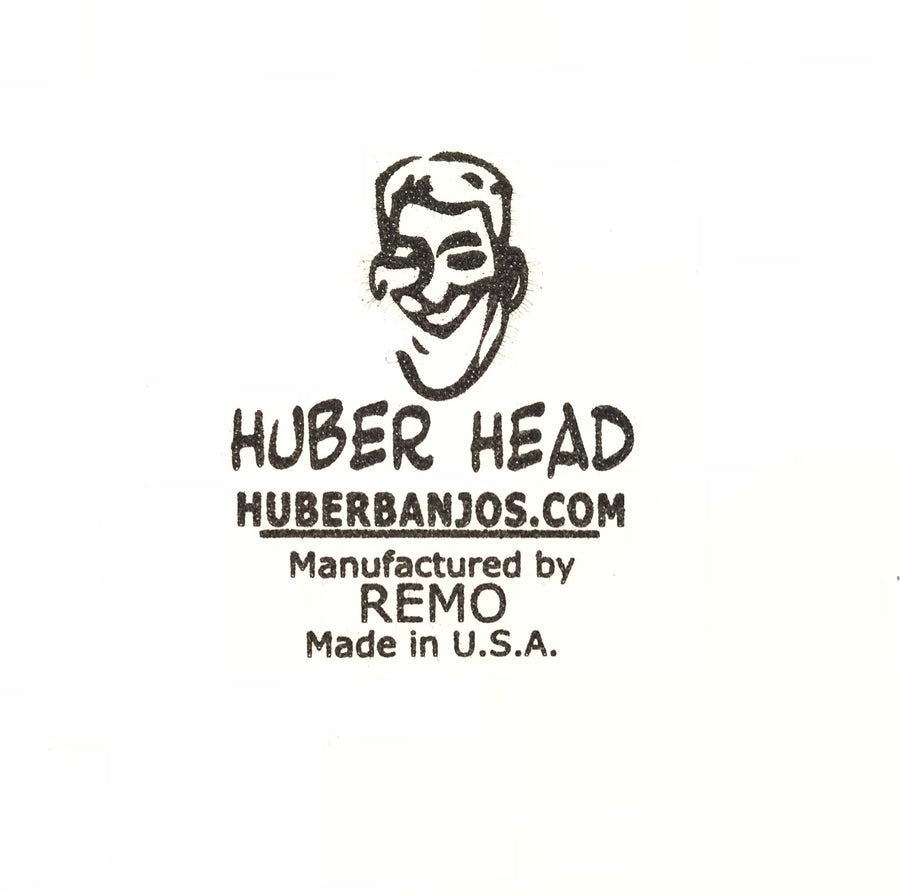 Huber 11 inch Frosted Top Medium Crown Banjo Head