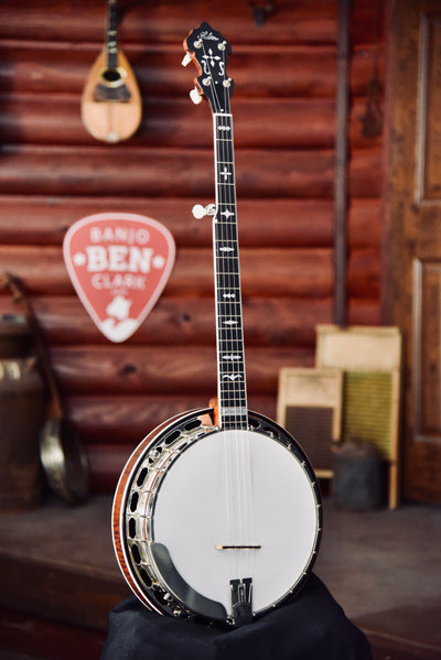 Pre-Owned 2017 Huber Workhorse Maple 5-String Banjo With Case