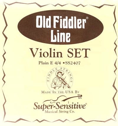 Old Fiddler Violin Fiddle Strings 4/4 Size Bluegrass Set