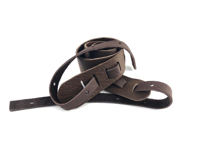 "Lakota Non-Cradle 2"" Strap For Banjo - Available in Brown or Tobacco Finish"