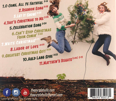 "The Purple Hulls - ""A Christmas Album"" CD"