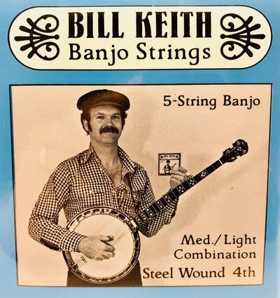 Bill Keith Medium Light Steel Wound 5-String Banjo Strings