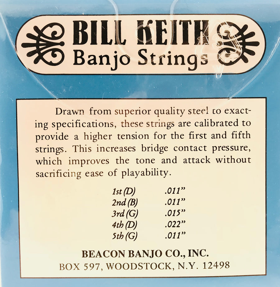 Bill Keith Medium Light 5-String Banjo Strings