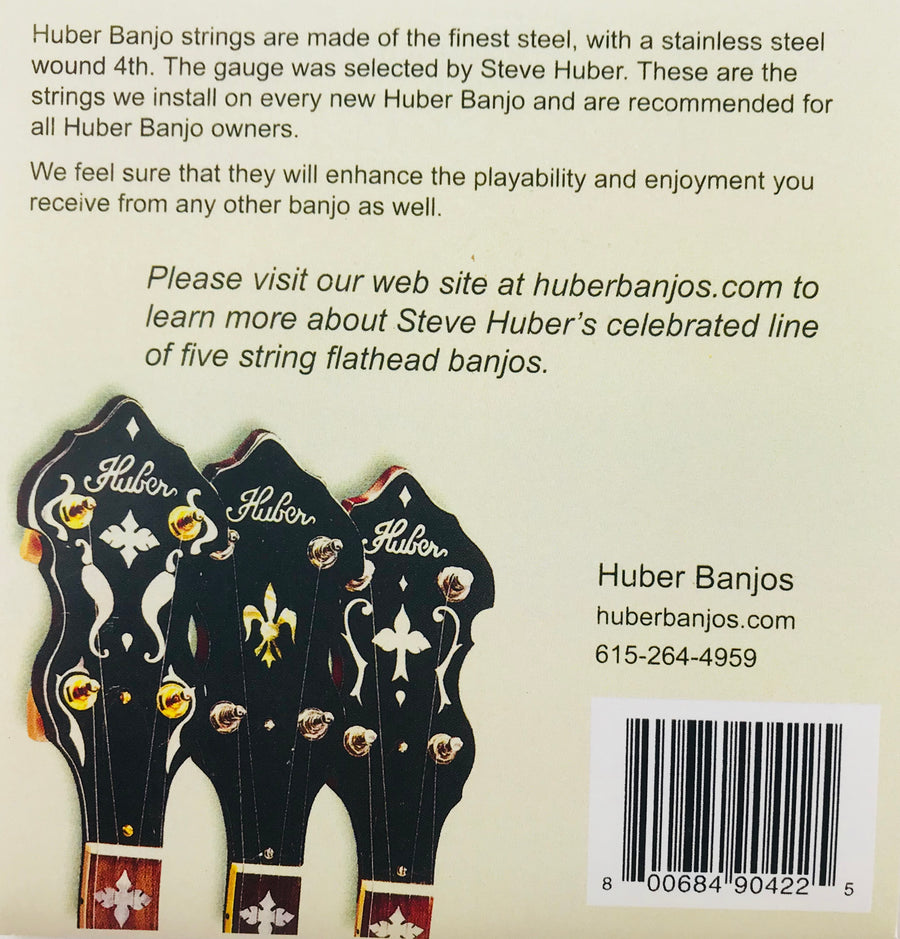 Huber Signature Banjo Strings