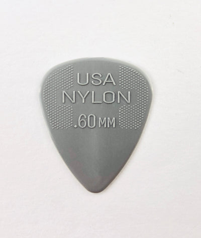 Dunlop Nylon Standard Flat Pick (Choose Thickness)