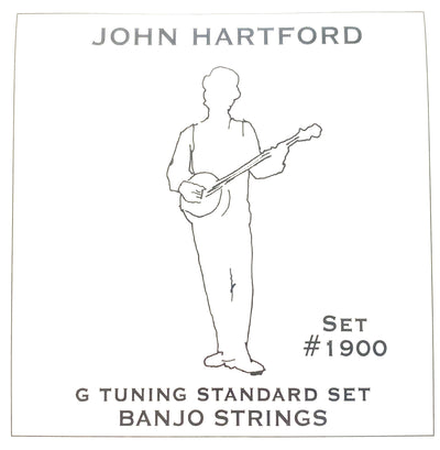 John Hartford Set #1900 G Tuning Standard 5-String Banjo Strings