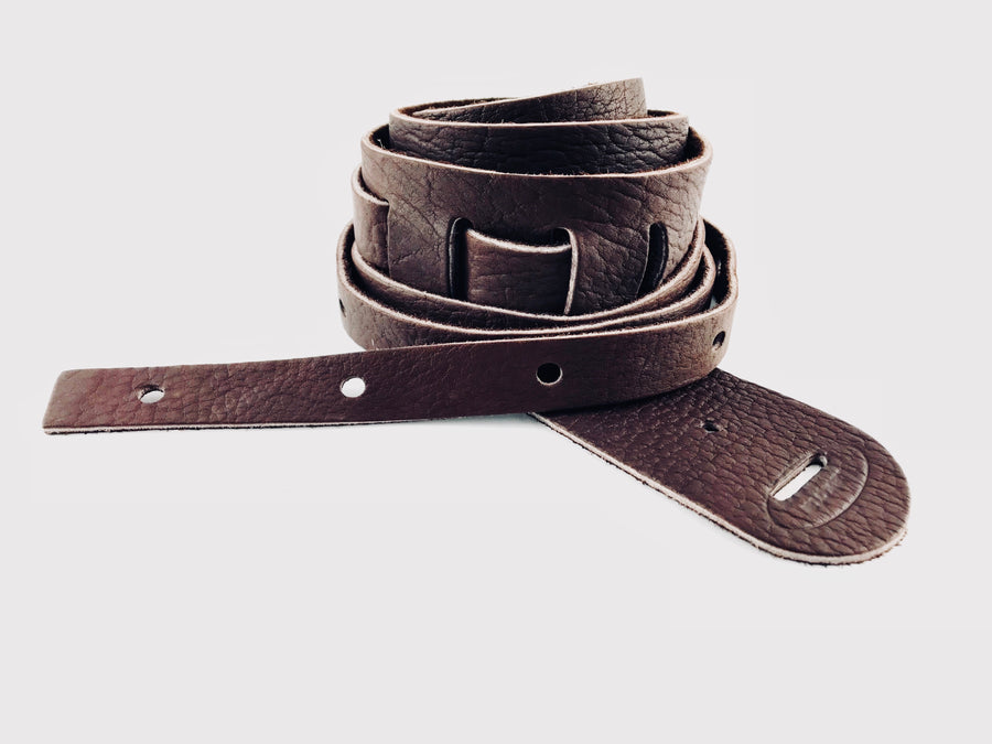 "Lakota Cradle 2"" Strap For Banjo - Available in Brown, Black, or Tobacco Finish"