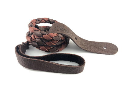Lakota Round Braided Mandolin Strap