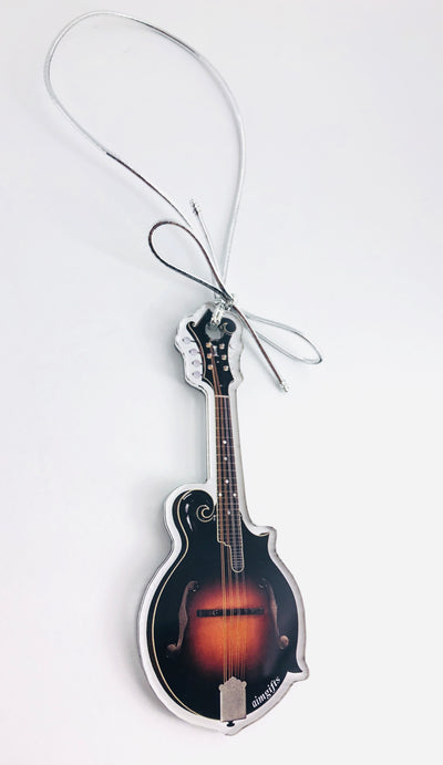 Bluegrass Instrument Christmas Tree Ornaments (Choose Instrument)