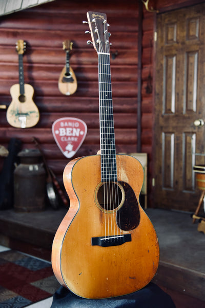 Pre-Owned 1934 Martin 000-18 Acoustic Guitar With Case