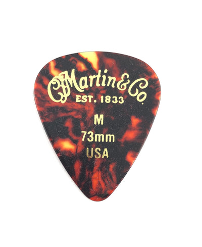 Martin Tortoise Celluloid Standard Guitar Pick (Choose Thickness)