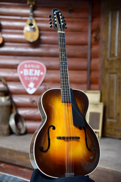 Northfield Mahogany Archtop Octave Mandolin With Case