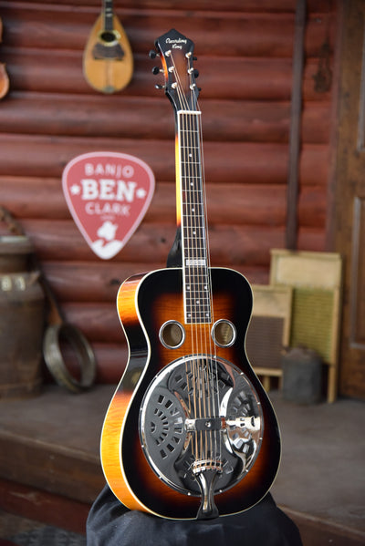 Bundle Deal - Recording King Phil Leadbetter Signature Maple Resonator Guitar