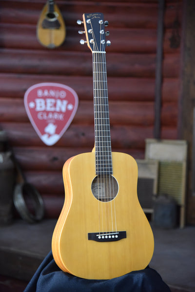 Recording King RK-A3MQ EZ Tone Mini Dreadnought Guitar with Case