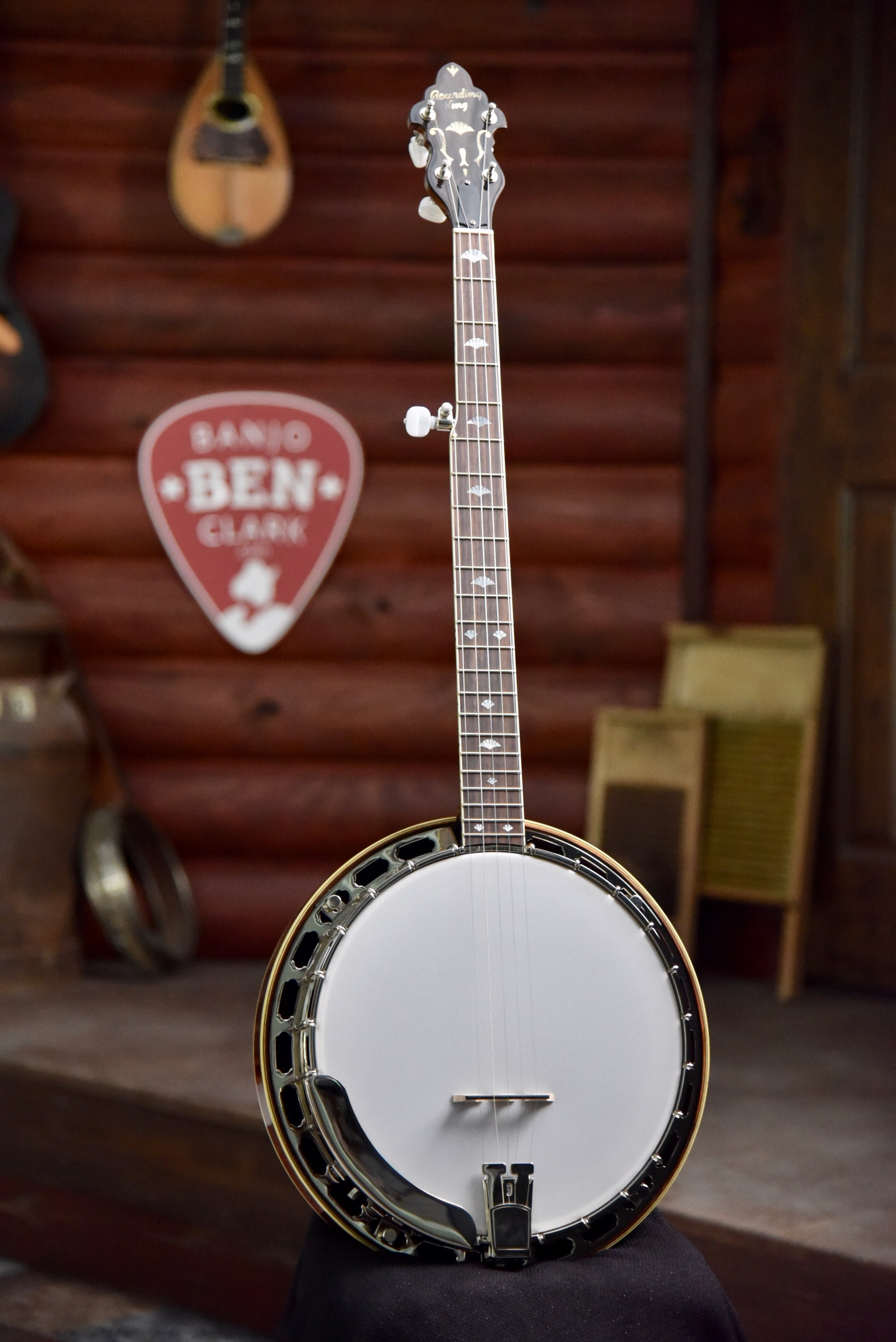 Recording King RK-M5 American Made Banjo w/Case