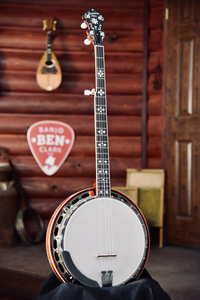 Recording King RK-Elite-85 Maple Bluegrass Banjo With Case