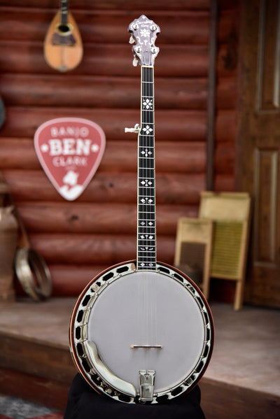 Recording King RK-Elite-76 Banjo w/Case