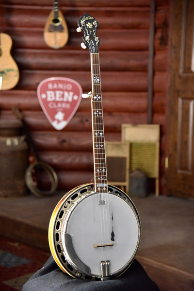 Pre-Owned Gold Star GF200 Maple Bluegrass Banjo With Case