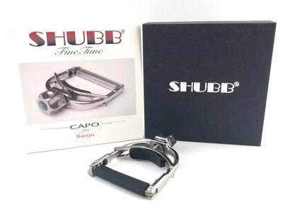 Shubb Fine Tune Capo for Banjo - Radiused
