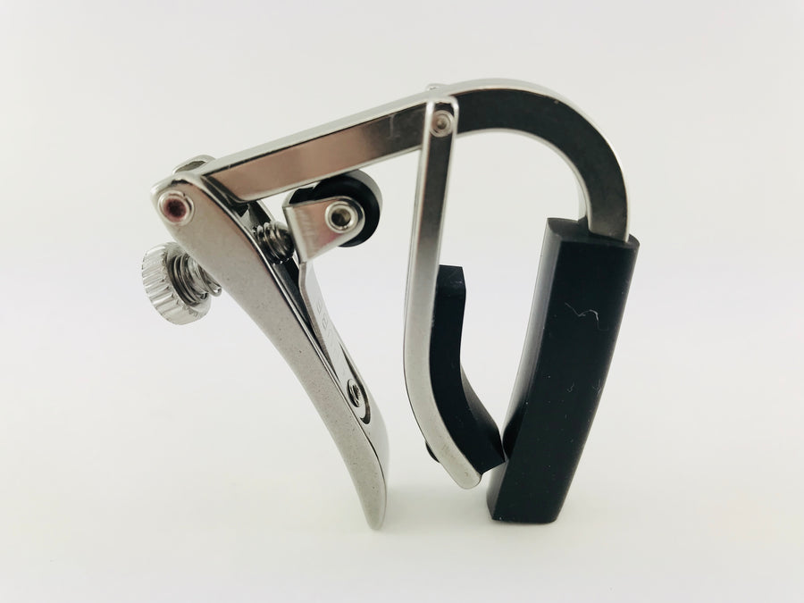 Shubb Deluxe Stainless 5-String Banjo/Mandolin Capo for Radiused Fingerboard