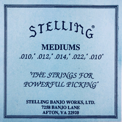 Stelling Banjo Strings - Mediums