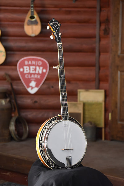 Stelling Sunflower 5-String Maple Bluegrass Banjo With Case