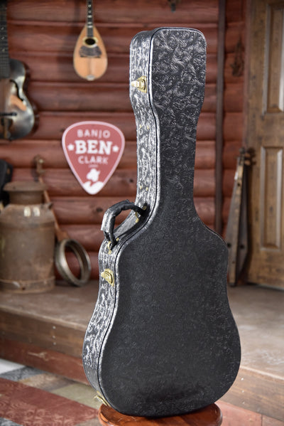 Stone Black Western Dreadnaught Guitar Case with Hygrometer