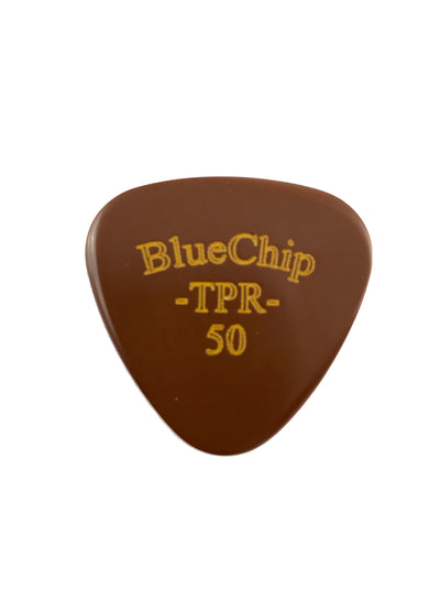 BlueChip TPR50 Rounded Triangle Flat Pick