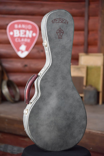 Weber Gallatin Pre-Owned F-Style Oval Hole Mandolin With Case