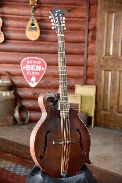 Weber Gallatin F-Style Mahogany Mandocello With Case - Used