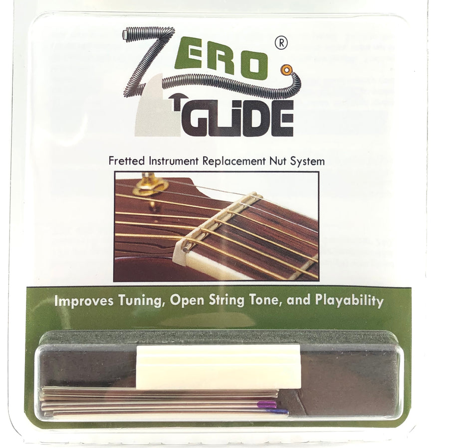 Zero Glide Replacement Nut System for 5-String Banjo