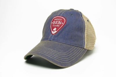 Banjo Ben Trucker Hat- Blue
