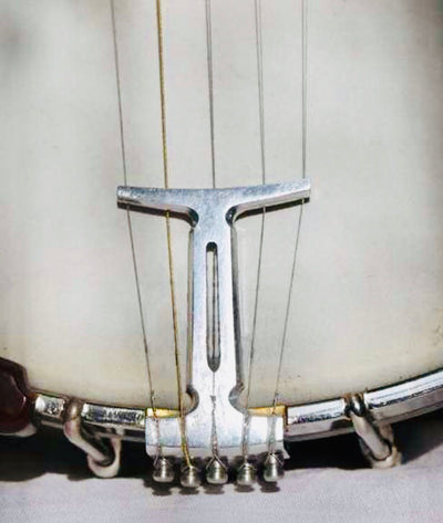 Colby 5-String Banjo Tailpiece in Original Stonewashed Finish