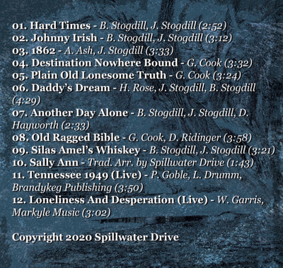 Spillwater Drive Bluegrass CD