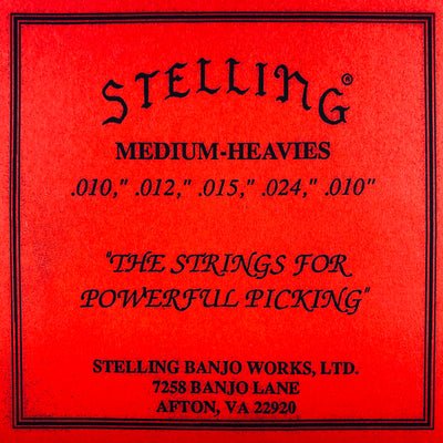 Stelling Banjo Strings - Medium Heavies