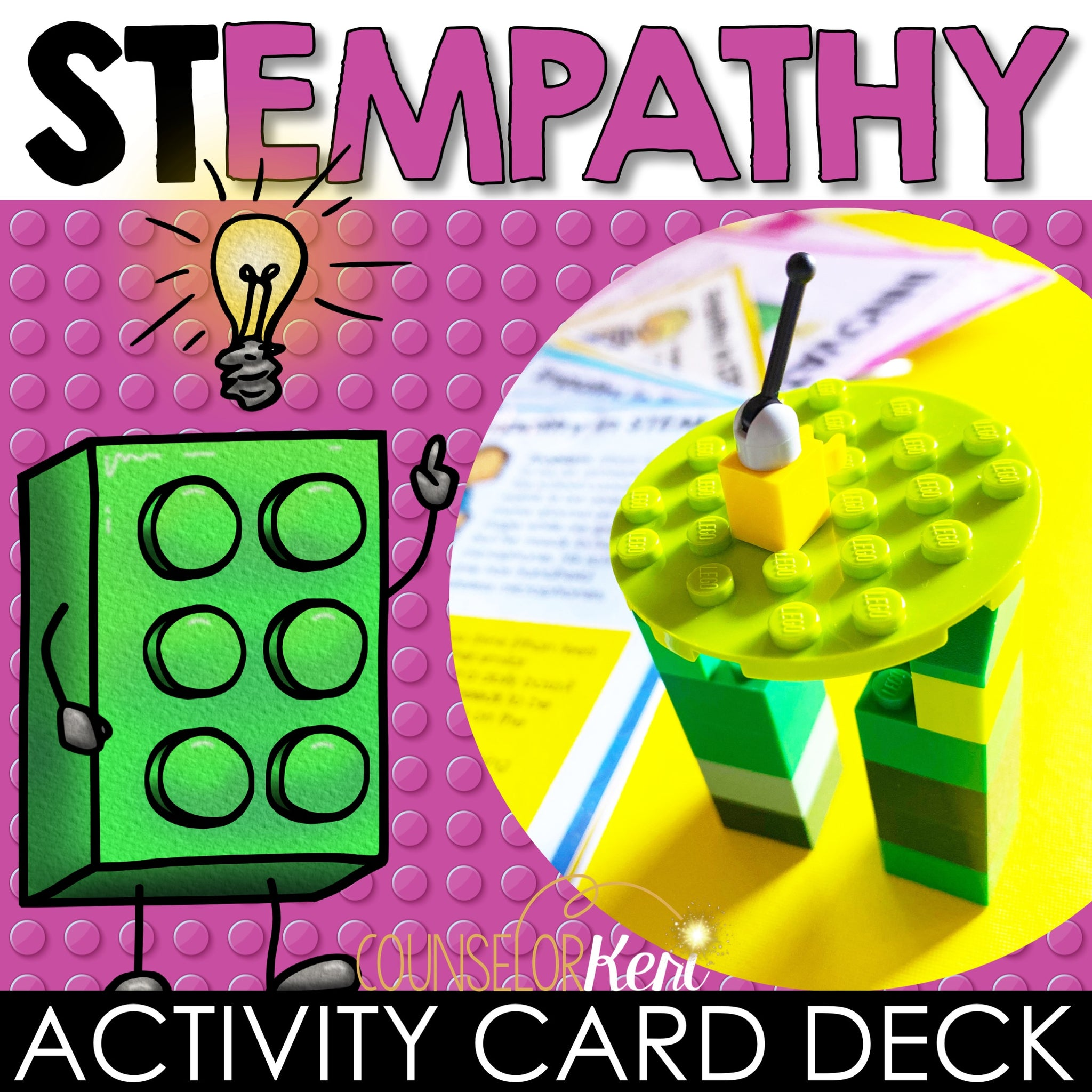 Empathy In Stem Activity Task Cards Counseling Empathy Activities D Counselor Keri