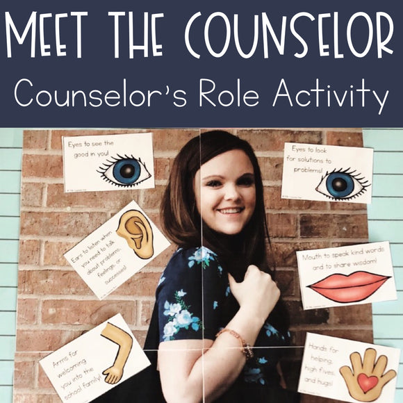 Meet the Counselor Activity: School Counselor's Role
