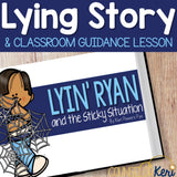 Lying Activity: Lying Classroom Guidance Lesson for Lying Behavior