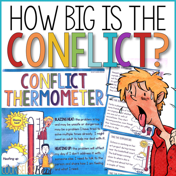 How Big is the Problem: Conflict Thermometer Classroom Guidance Lesson