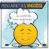 French Worry Workbook: Mon Carnet de L'angoisse