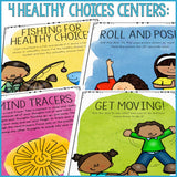 Healthy Choices Centers Classroom Guidance Lesson for School Counseling
