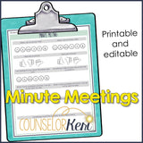 Counselor Time Tracker Use of Time Analysis Plus Bonus Counseling Forms & Templates