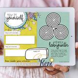 Digital Mindfulness Journal: Mindfulness Activities for Distance Learning