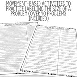 Problem and Reaction: Problem Size Activities for Counseling